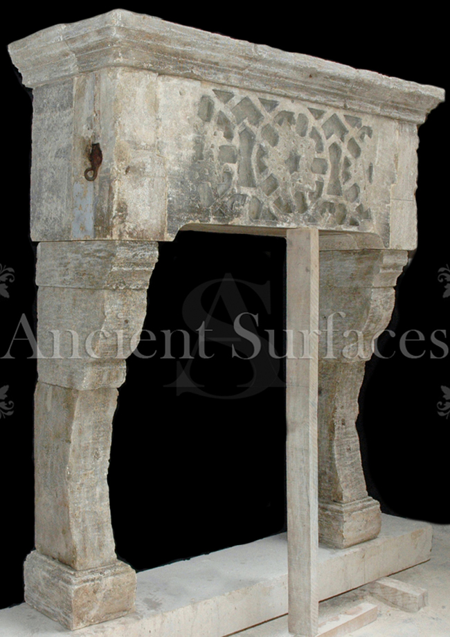 The Antique Mantle prior to installation as featured in AD 2011 April edition