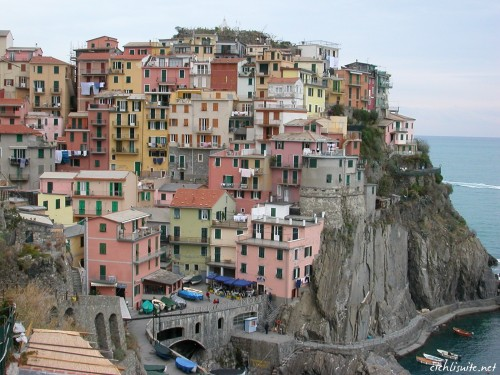 Cinque Terre May 26th 2011- A new meaning for people living on top of each other.