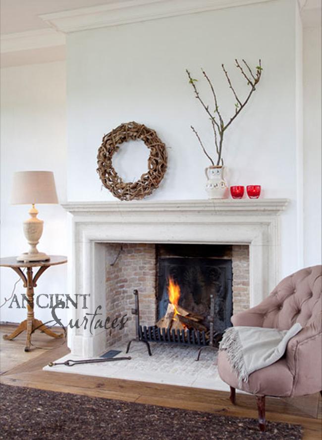 7 Simple Yet Elegant Antique Stone Fireplaces Antique