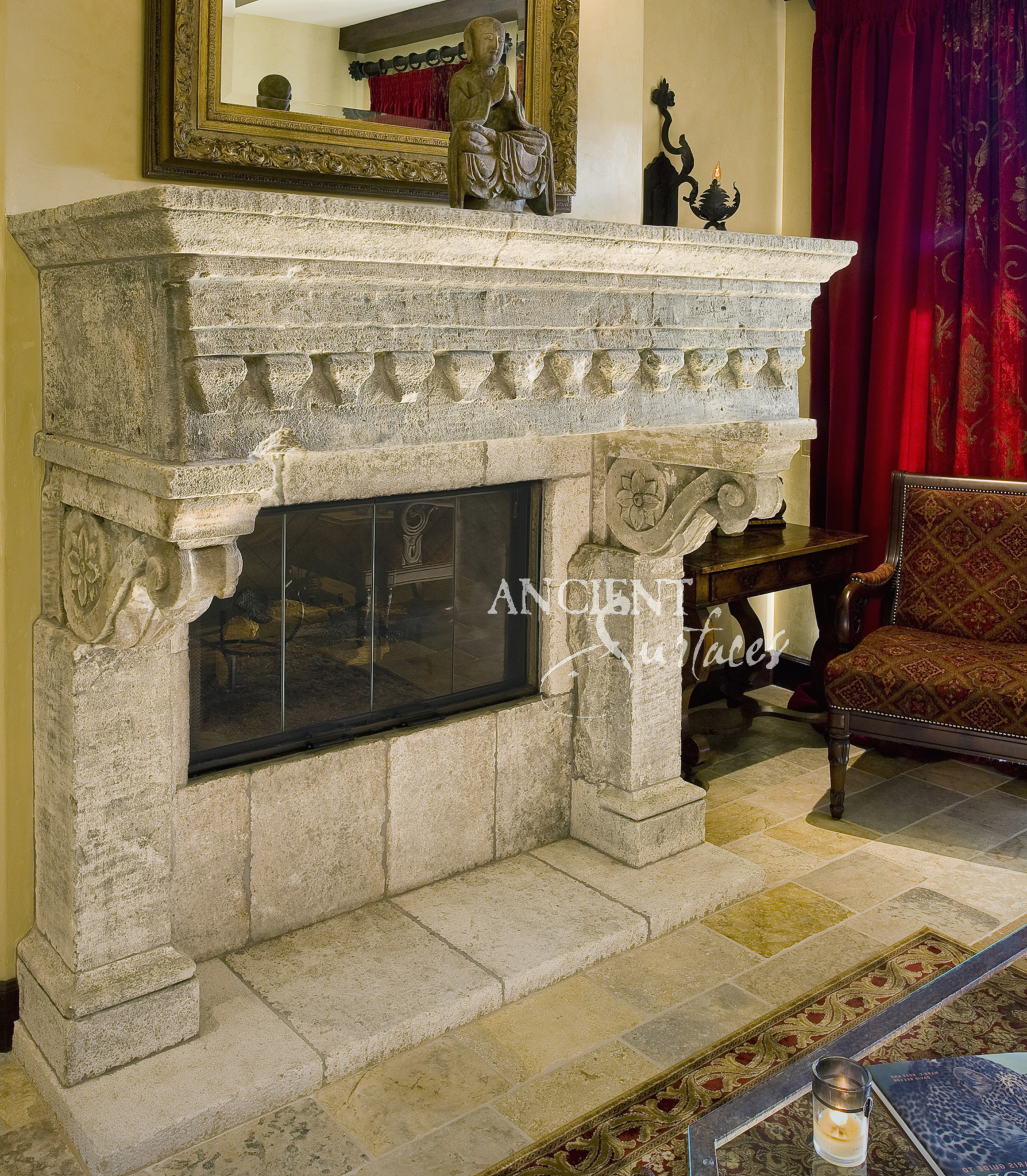 Antique Vintage Bedroom Fireplace: Antique Fireplaces By Ancient Surfaces