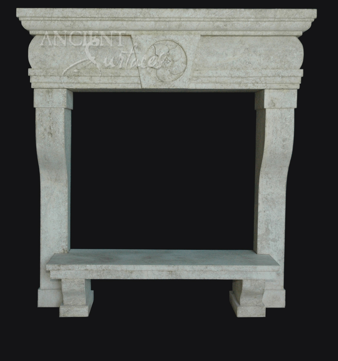 The Mariana Fireplace