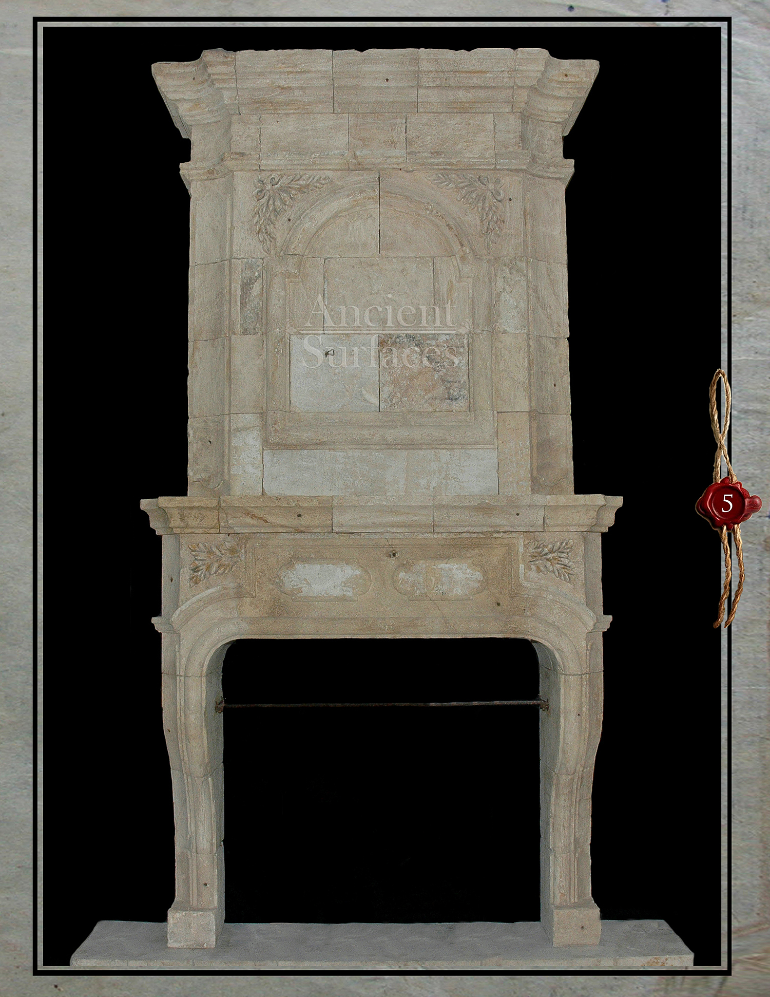 reclaimed stone fireplaces antique fireplaces by ancient surfaces
