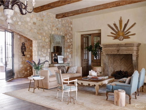 Limestone-fireplace-reclaimed-stone-wall-cladding