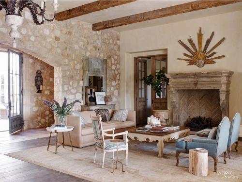 Limestone-fireplace-reclaimed-stone-wall-cladding