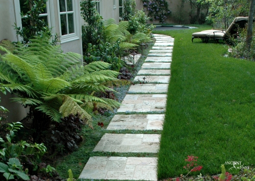 outdoor-biblical-stone-pavers-in-a-garden