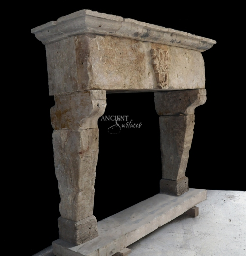 antique-restored-limestone-fireplace-design