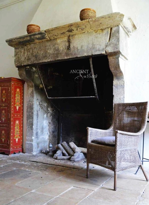 living-room-limestone-fireplace