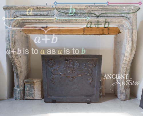 Antique-limestone-fireplace-stone-golden-ration-1