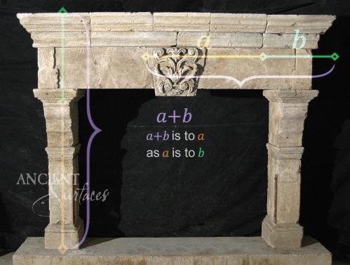 Antique-limestone-fireplace-stone-golden-ration-4