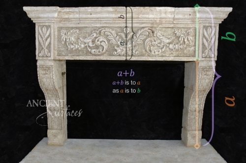 Antique-limestone-fireplace-stone-golden-ration-8