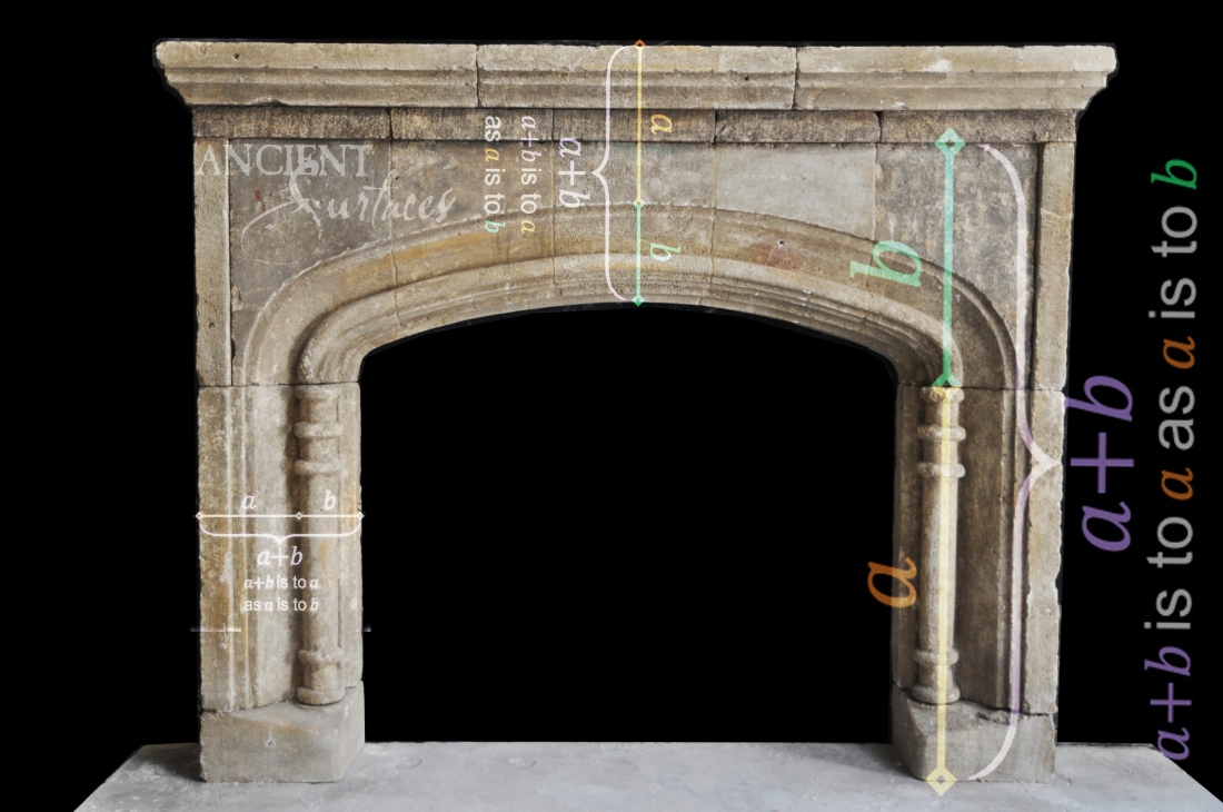 Antique-limestone-fireplace-stone-golden-ratio